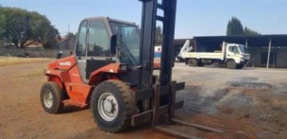 5ton Manitou MC50 'rough terrain ' forklift