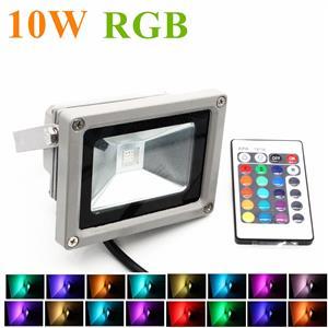 10W RGB COLOUR CHANGING FLOOD LIGHT