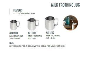MILK FROTHING JUG-18/10 Stainless Steel