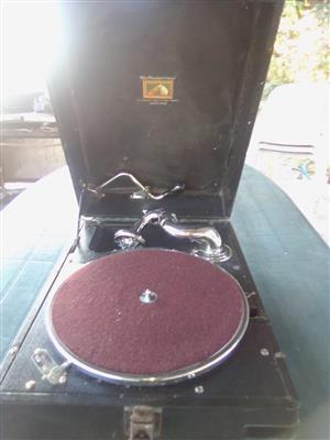 "Antique "" His masters voice""gramophone"