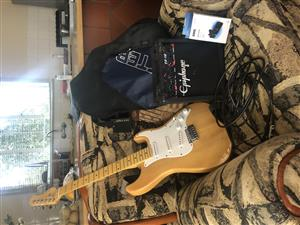 Wedgwood electric guitar and accessories for sale