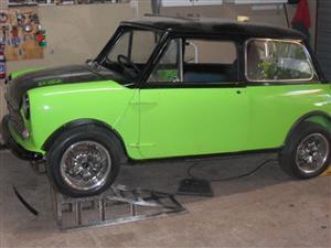1976 Mini Cooper