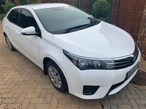 2014 Toyota Corolla 1.6 Esteem