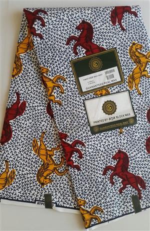 Real Wax Fabric