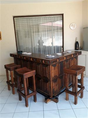 Rhodesian Teak Bar