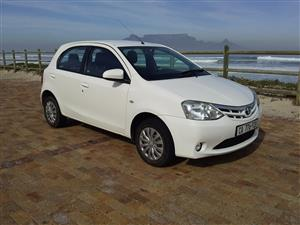 2015 Toyota Etios hatch ETIOS 1.5 SPORT LTD EDITION 5DR