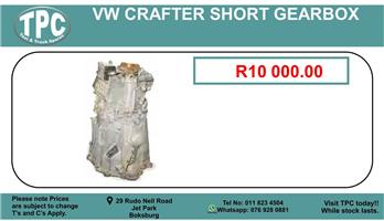 Vw Crafter Short Gearbox Used For Sale