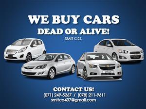WE BUY CARS! DEAD OR ALIVE!