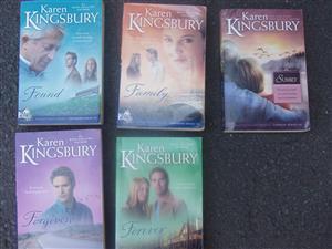 Karen Kingsbury Novels - 5 novels
