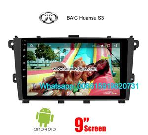 BAIC Huansu S3 Car audio radio update android GPS navigation camera