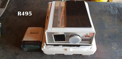 Braun Nornberg Paximat 2000 Electric Slide Projector and Battery operated Slide Projector