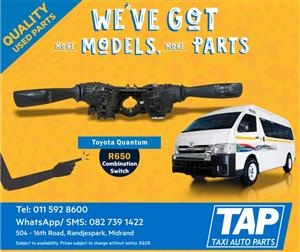 Toyota Quantum Combination Switch - Taxi Auto Parts - TAP