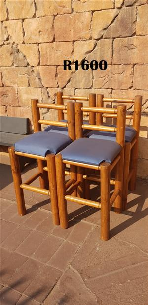 4 Heavy Duty Bar Chairs