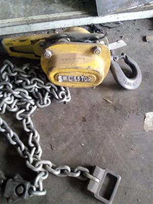 Chain block for sale