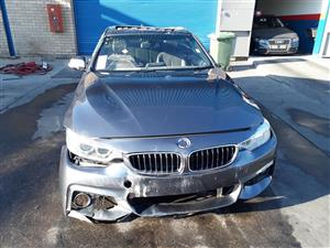 2014 BMW 4 Series 428i convertible Accident Damaged