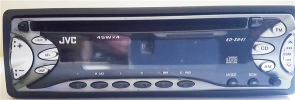 JVC KD-S641 Car CD Player