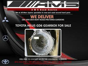 TOYOTA HILUX GD6 GEARBOX