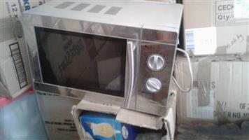 Silver used microwave 30lt