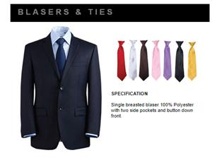 BLAZERS AND TIE