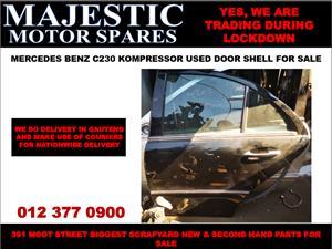 Mercedes benz c230 kompressor used door shell for sale
