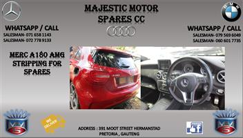 Mercedes benz AMG stripping for spares