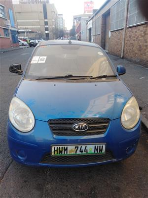 2010 Kia Picanto stripping for spares by K&M motor spares