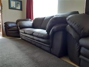 3 2 1 Bonded Leather Lounge Suite