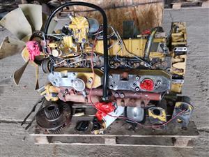 Cat 320 excvator engine and main pump