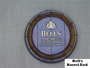 Bell's Scotch Whisky Barrel Ends. Brand New Products.