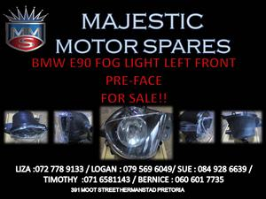 BMW E90 PRE FACE FOG LIGHT FOR SALE !!