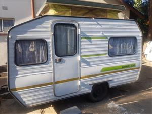 Gypsey Caravette 4 caravan,lightweight ideal for contractor or fishing
