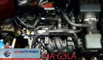 Complete used KIA G3LA engine