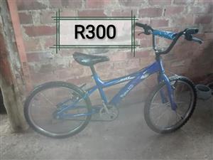 Blue BMX for sale