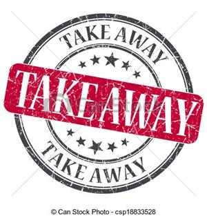 Take away for sale