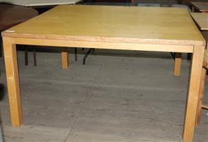 Oak dining room table S032158A #Rosettenvillepawnshop