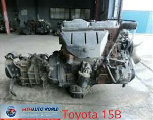 Complete Imported used TOYOTA COASTER 4.1L 15B engines.