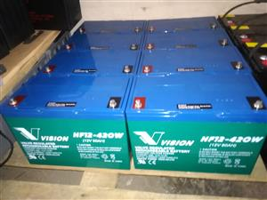 VISION DEEP CYCLE BATTERIES FOR SALE