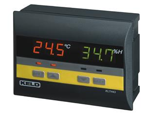 Temperature 7 humidity Controller KLTH43, (2 temp probes & HUMIDITY PROBE)