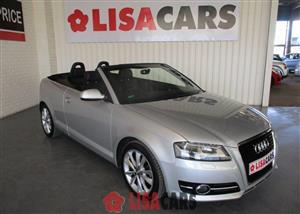 2012 Audi A3 cabriolet A3 2.0T FSI STRONIC CABRIOLET