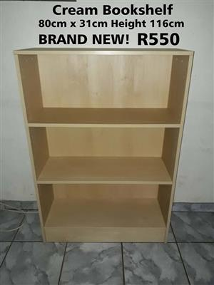 Cream Bookshelf