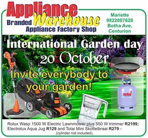 International Garden Day - 20 October 2019!