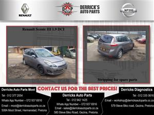 Renault Scenic 3 Stripping For Used Spares