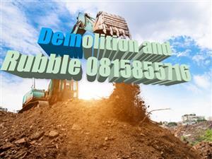 Jeffy demolition and rubble 0815855716 services