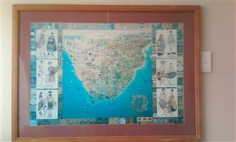 Selling 2 X Wooden Framed Puzzles