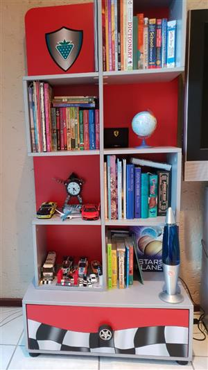 Book shelve and Drawers - original Ferrari set by Cilek