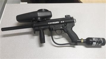 PAINTBALL GUN TIPPMAN A5 R2500.00