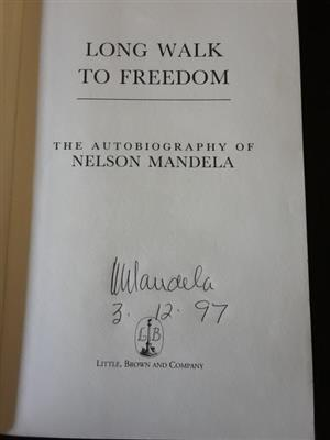 Long Walk to Freedom book for sale. The Autobiography of Nelson Mandela