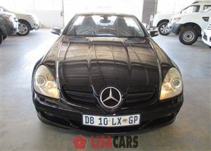 2005 Mercedes Benz SLK 200