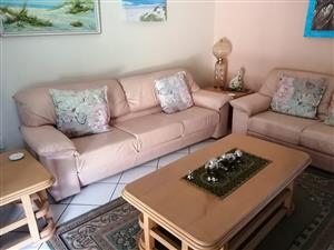 Leather Lounge Suite 5 Seater