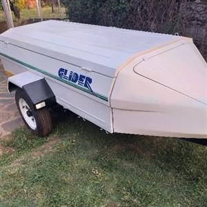 glider 7foot trailer with nose cone